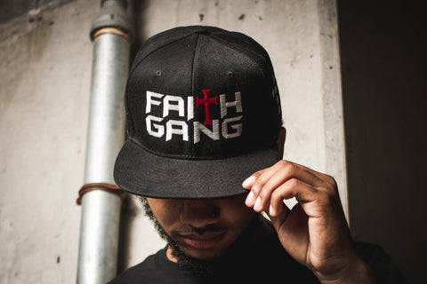 Faith Gang Black Snapback