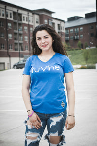 TruVine Women's V-Neck Tee