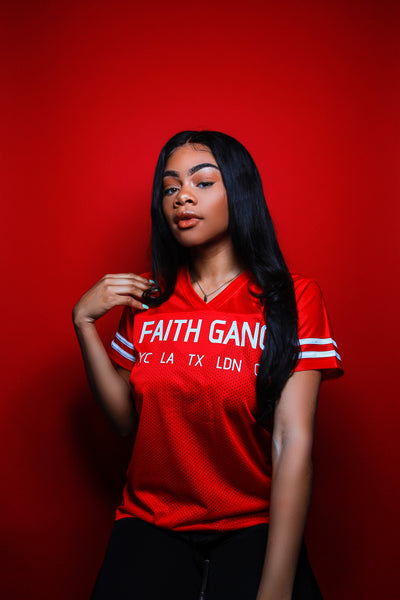Faith Gang World Wide Ladies Jersey (multiple color options)