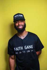 Faith Gang World Wide Men's Full-Button Mesh Jersey (multiple color option)
