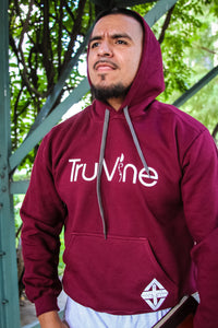 TruVine Hoodie (Maroon & Black Options)