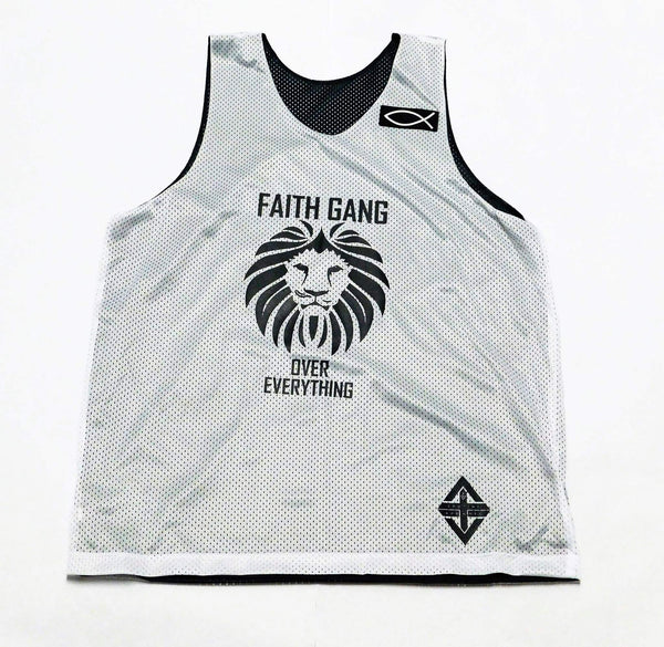 Faith Gang Reversible Basketball Jersey (Unisex)