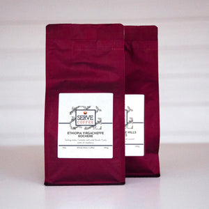 Africa Coffee Sampler - Coffee Gift - Serve Coffee
