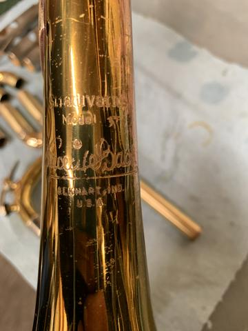 What's on My Bench? Early 70s Bach Model 37 Trumpet