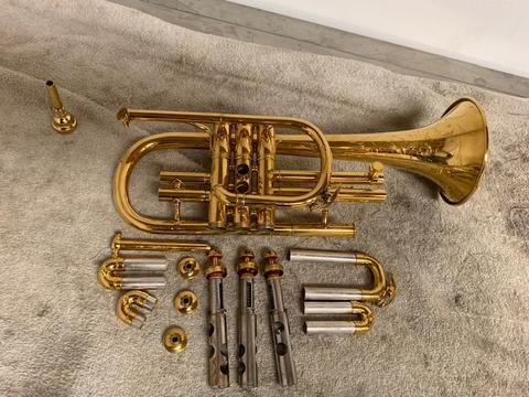 What's on My Bench? 1921 Conn 20A Flugelhorn