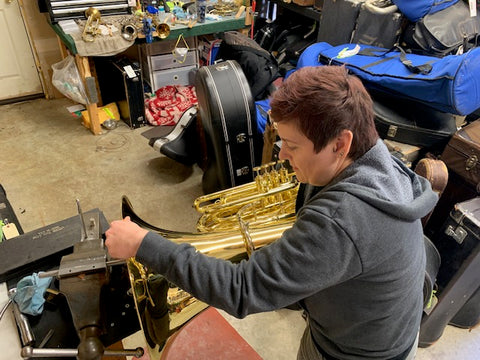 What's on My Bench? King 2341 BBb Tuba