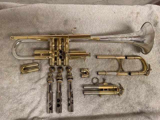 What's on My Bench? King Silver Tone Artist Bore Trumpet