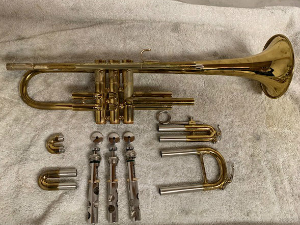 What's on My Bench? 1967 Getzen Eterna Severinson Model Trumpet