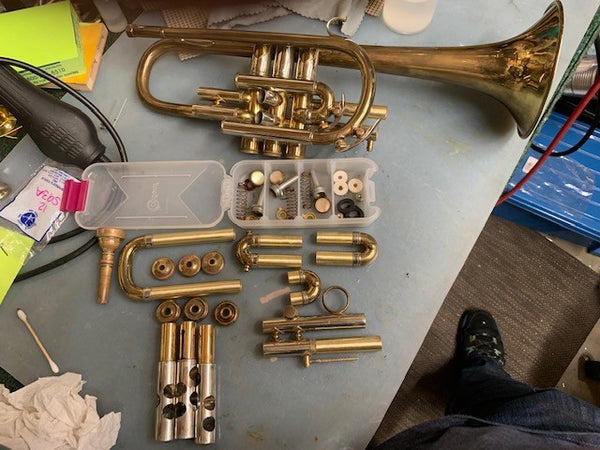What's on My Bench? A New York Bach Cornet!