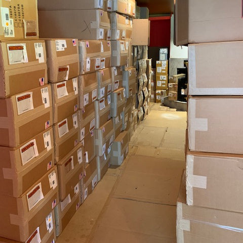 What's on My Bench? Huge Shipments of New Instruments!!!