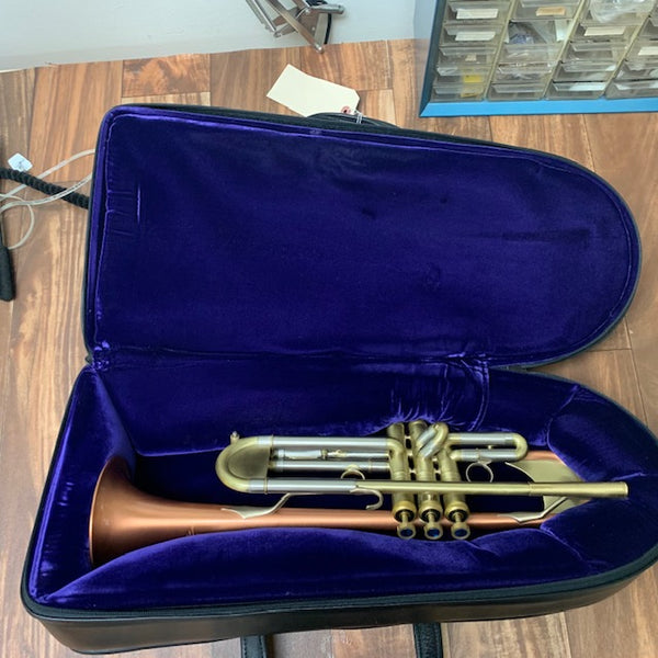What's on My Bench? A Kanstul 1500A Trumpet!