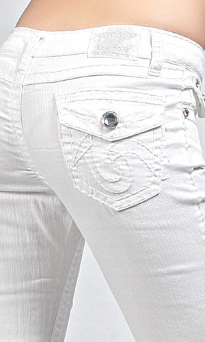 White Skinny Jeans - Bloom and Snow Boutique