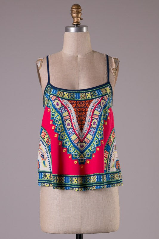 Aztec Tank - Bloom and Snow Boutique
