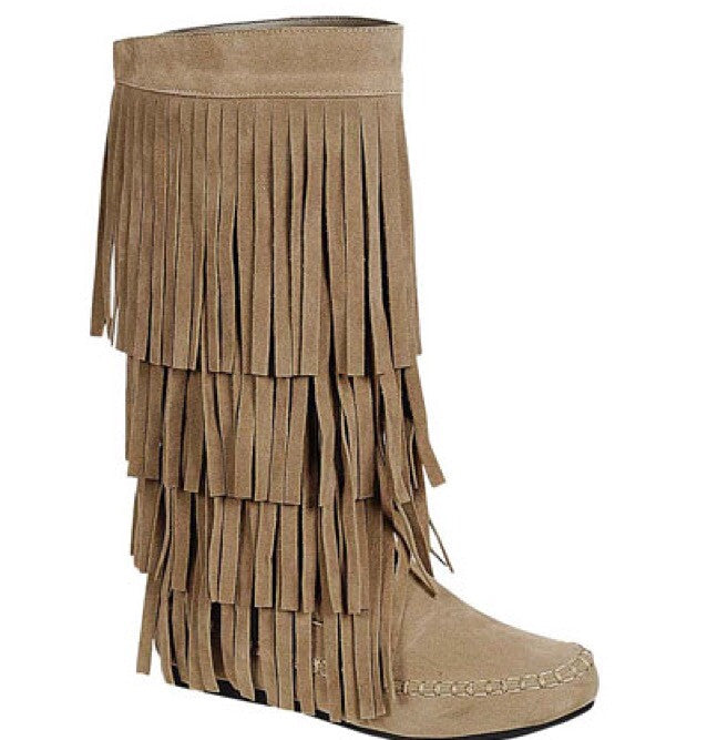 Fringe Crush Boots - Bloom and Snow Boutique