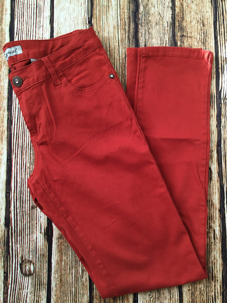 Rust Skinny Jeans - Bloom and Snow Boutique
