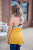 Take A Chance Top - Mustard - Bloom and Snow Boutique