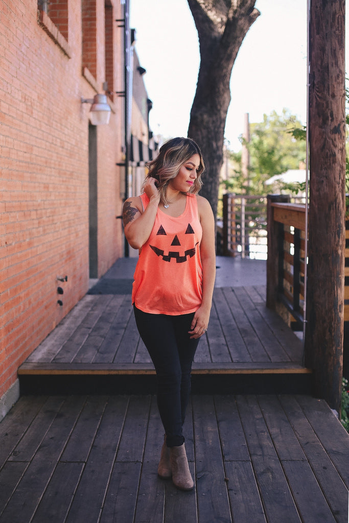 Pumpkin Tank - Bloom and Snow Boutique