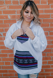 Baja Bohemian Hoodie Sweatshirt - Bloom and Snow Boutique