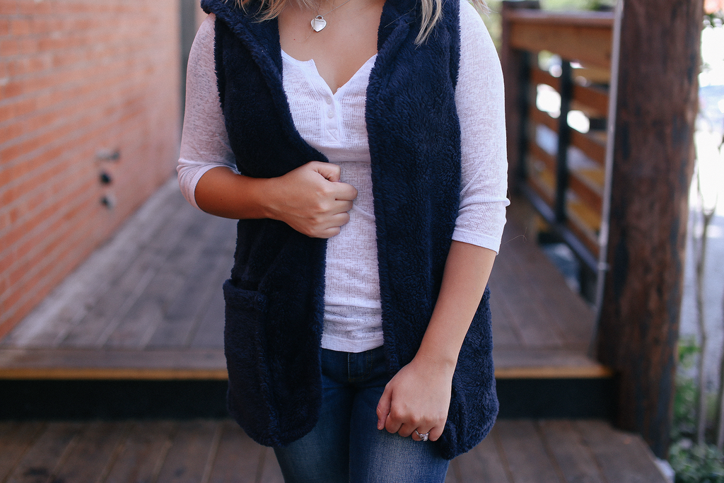 Come Together Vest - Navy - Bloom and Snow Boutique