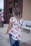 Choker Floral Top - Bloom and Snow Boutique