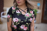 Criss Cross Floral Love