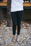 Fleeced Leggings - Bloom and Snow Boutique