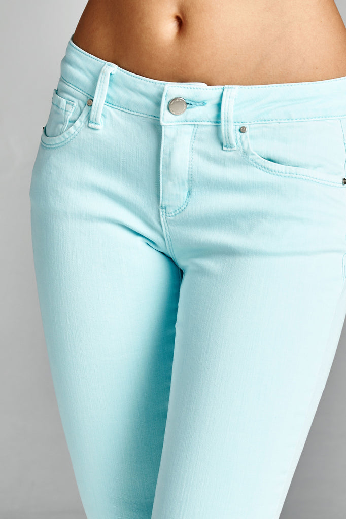 Pastel Skinny Jeans - Bloom and Snow Boutique