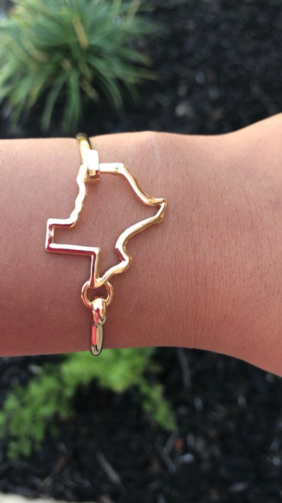 Texas Bar Bangle - Bloom and Snow Boutique