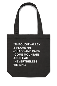 """Nevertheless"" - Tote"