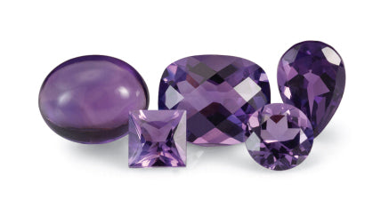 Amethyst Natural Gemstone from Rare Earth Jewelry