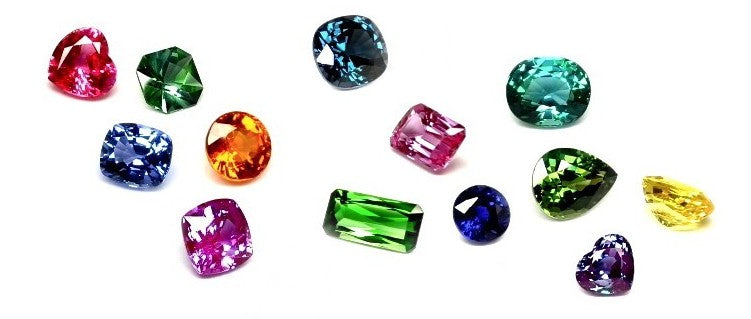 Colored Natural Gemstones from Rare Earth Jewelry