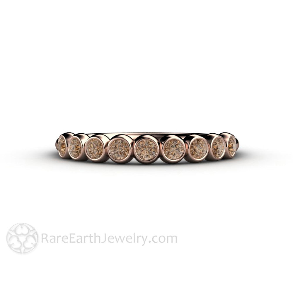 chocolate brown fancy colored in rings engagement diamonds ring setting rose diamond gold