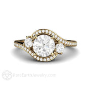 Rare Earth Jewelry 1ct Diamond Engagement Ring GIA Certified