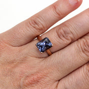 Rare Earth Jewelry Color Change Sapphire Right Hand Ring on Finger