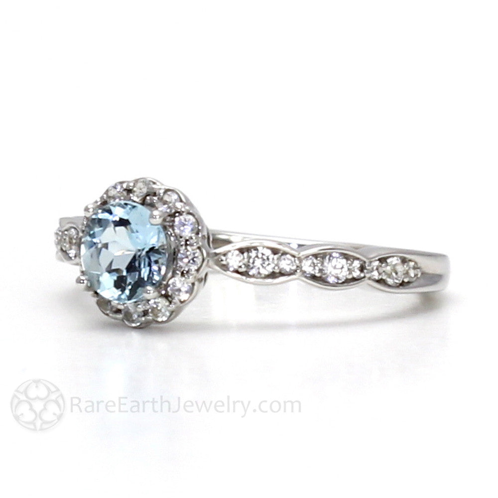 birthstone rings pretty march engagement category jewelry online buy