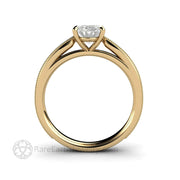Engagement Ring Classic Four Prong Solitaire Setting