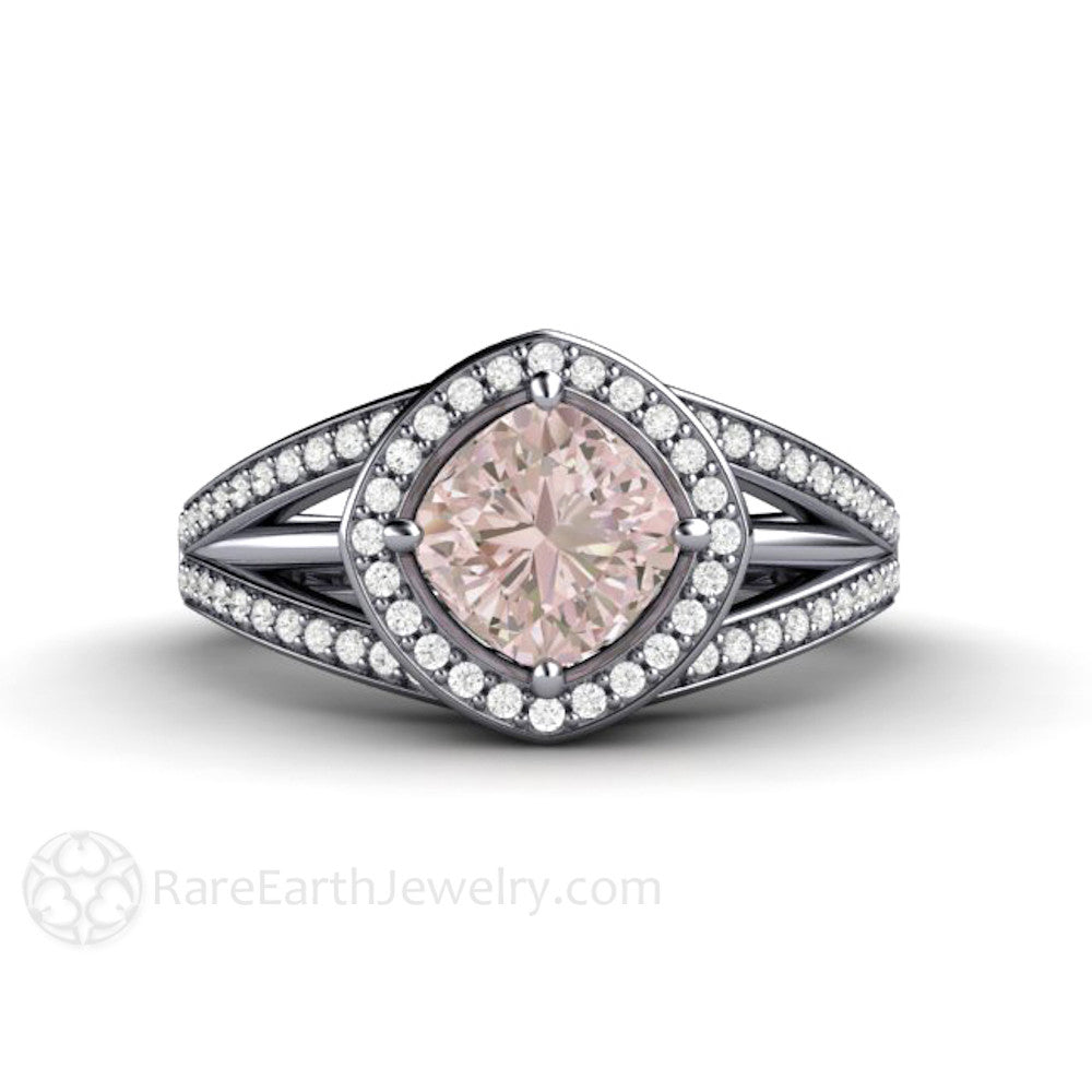 il wedding gold white carat engagement with custom sapphire ring unique in products natural rings fullxfull an pink