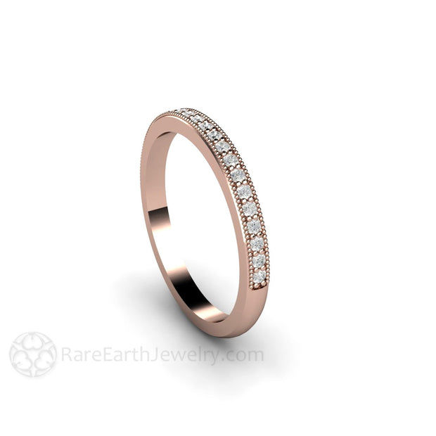 Conflict Free Diamond Bridal Ring Rare Earth Jewelry