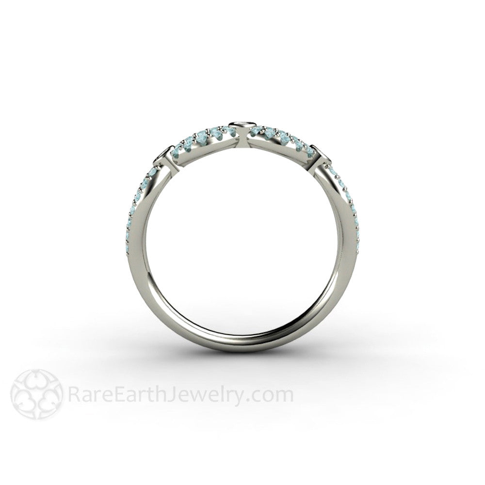 rings white promise zoom wedding blue diamond to hover and