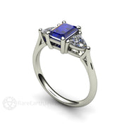 Sapphire September Birthstone or Annivrsary Ring Rare Earth Jewelry