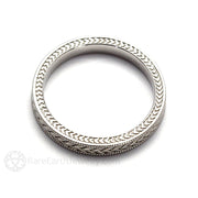 Rare Earth Jewelry Men's Wedding Band Anniversary Ring