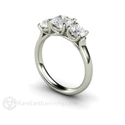 Charles & Colvard Moissanite Engagement Ring Rare Earth Jewelry