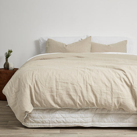 Linen Duvets, Sheets and Pillowcases by Little Additions