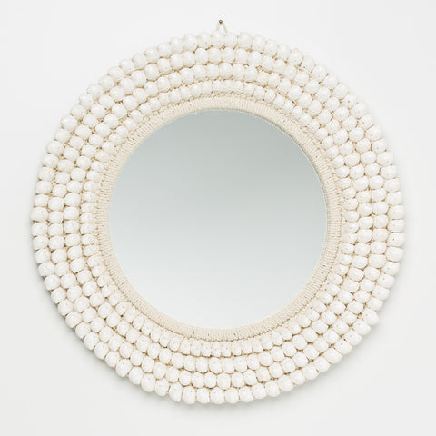 Coastal Luxe Shell Mirror
