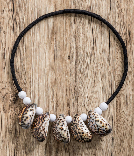 Cowrie Shell Wall Hanging Leopard Little Additions