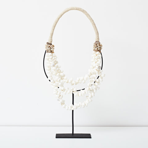 Tribal Shell Necklace - Natural