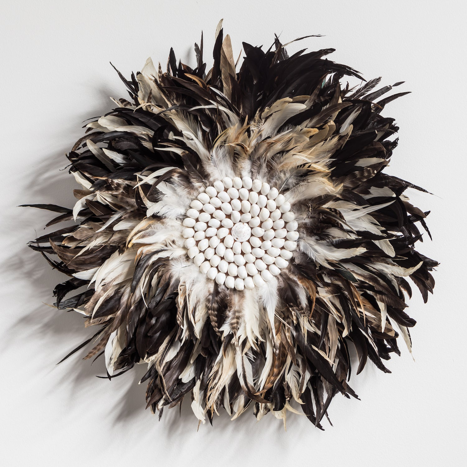 Juju Feather Wall Hanging - Earth