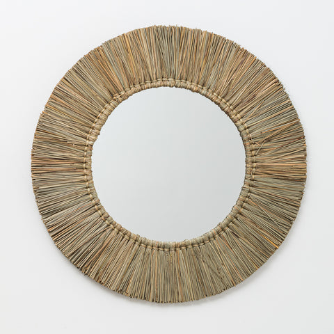 Seagrass Mirror - Natural