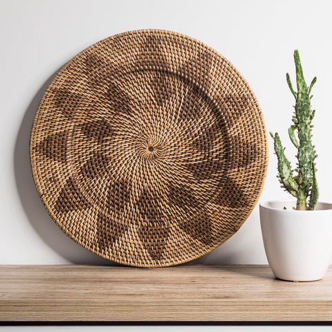 Rattan Wall Hanging - Natural