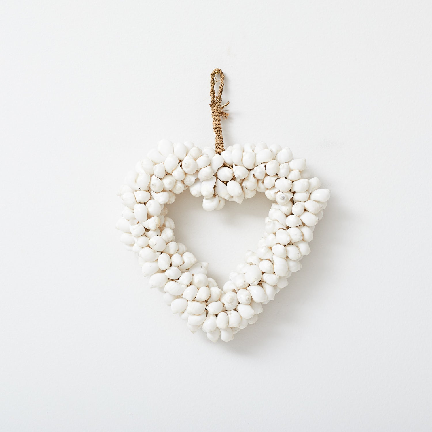 Shell Heart Wall Hanging